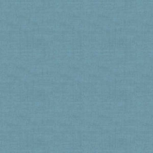 Chambray Blue Linen Texture fat 1/4