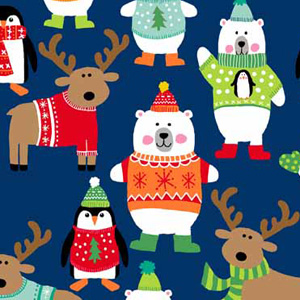 Children's Christmas Fabrics