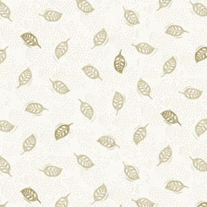 Into The Woods - Leaf Ivory fabric