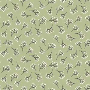 Into The Woods - Berry Green fabric