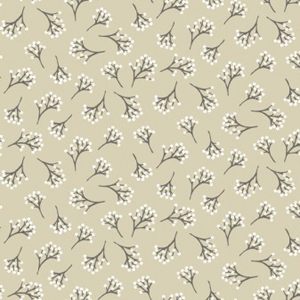 Into The Woods - Berry Ivory fabric