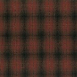 Yarn Dyed - Shaded Dark Red Check Fat 1/4