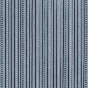 Summer Holiday - Deckchair Stripe - Ocean Fat 1/4