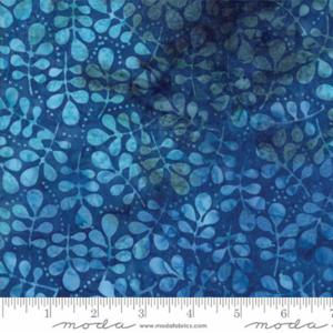 Moda Bonfire Ocean Batik Fat 1/4 - Dark Blue