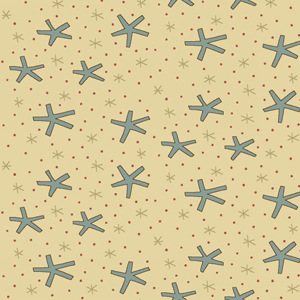Celebrating Christmas Fabric by Hatched and Patched