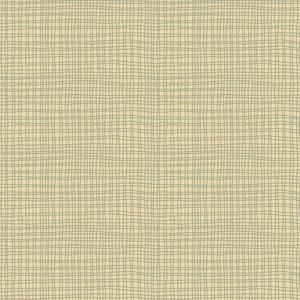 Mini Check Cream/Blue Fabric