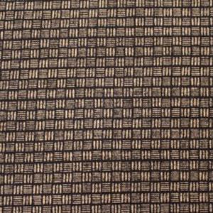 Japanese Textured Woven Fat 1/4 - Geo Lines Indigo