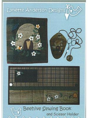 Beehive Sewing Book & Scissor Holder Kit