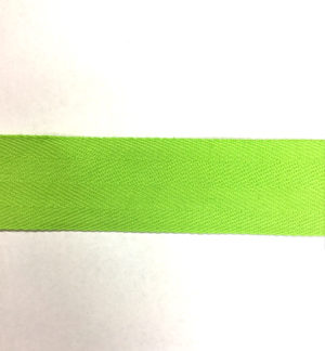 50M bunting tape in LIME 30mm wide