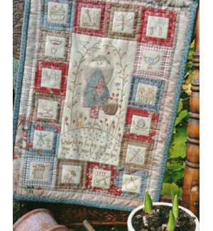 Peaceful Gardener Pattern & Kit