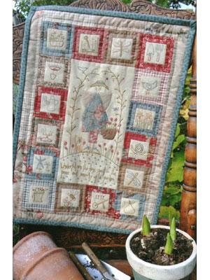 Peaceful Gardener Pattern & Kit