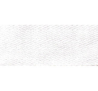 50m White Bunting Tape - 20mm wide