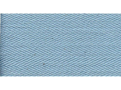 50m Light Blue Bunting Tape - 30mm wide