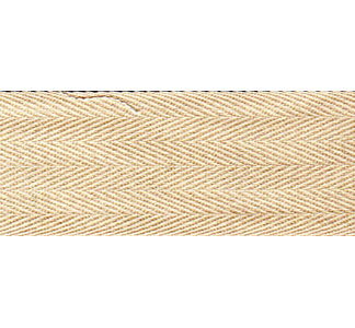 Cream twill tape - 11mm wide