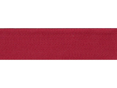 50m Dark Red Bunting Tape - 30mm wide