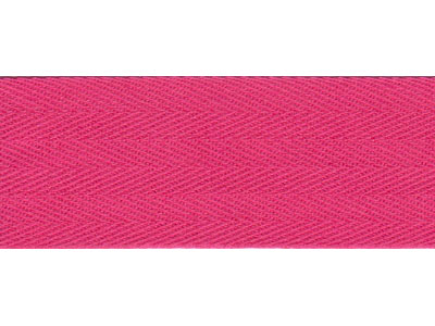 50m Dark Pink Bunting Tape - 30mm wide