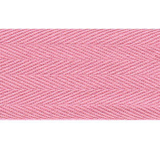 50m Pale Pink Bunting Tape - 30mm wide