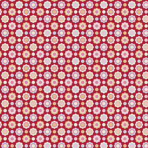 Tilda Candy Bloom - Aimee Red fabric