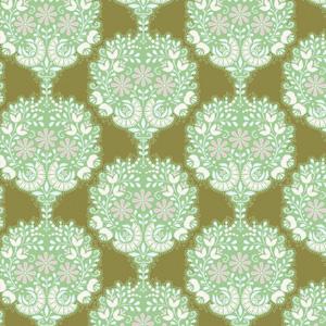 Tilda - Harvest Flower Tree - Green Fat 1/4