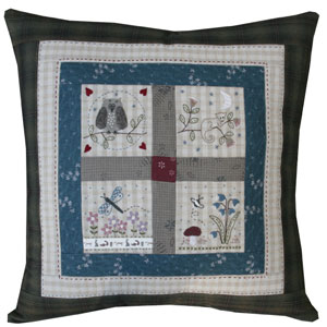 Forest Friends Cushion pattern & kit