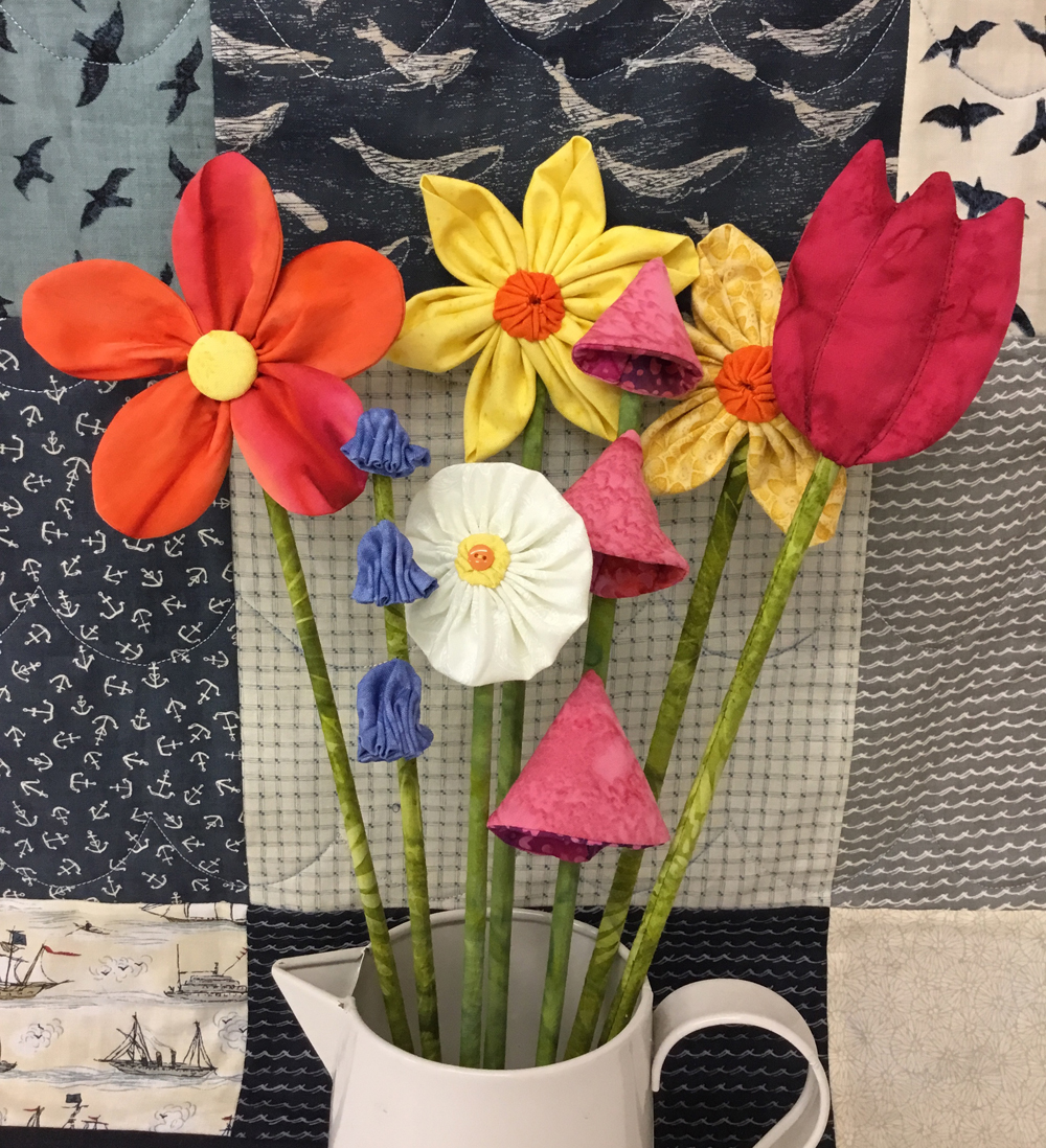 CRAFTERNOON - BOUQUET OF 3-D FLOWERS IN A VASE with Mary - Coast ...