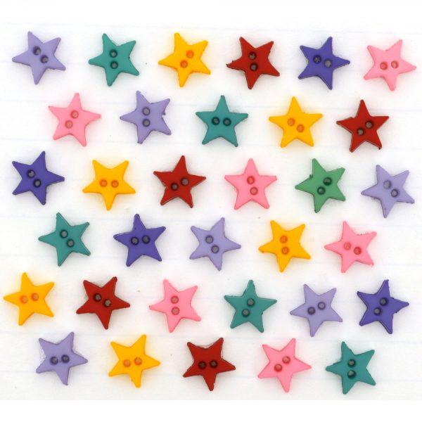 Mini Dress It Up 2921 Micro Stars Flirt Embellishment for Crafts