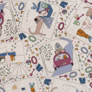 Summer Holiday Fabrics by Lynette Anderson