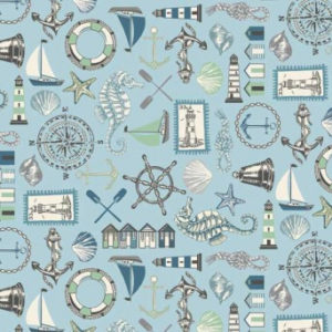 Beachcomber Fabric by Makower