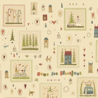 Home for Christmas by Hatched & Patched Fabric & FQs