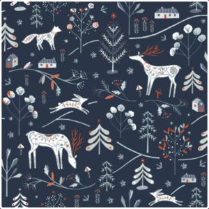 WINTERFOLD Fabric by Ali Brooks