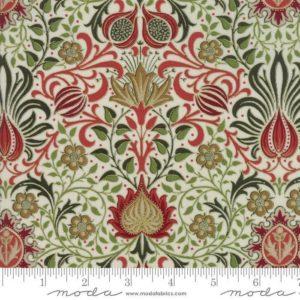 William Morris Holiday Metallic Fabric