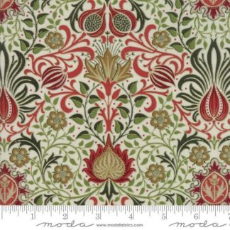 William Morris Holiday Metallic Fabric