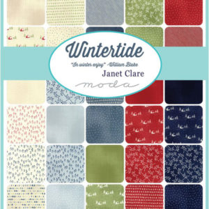 Wintertide Fabric by Janet Clare