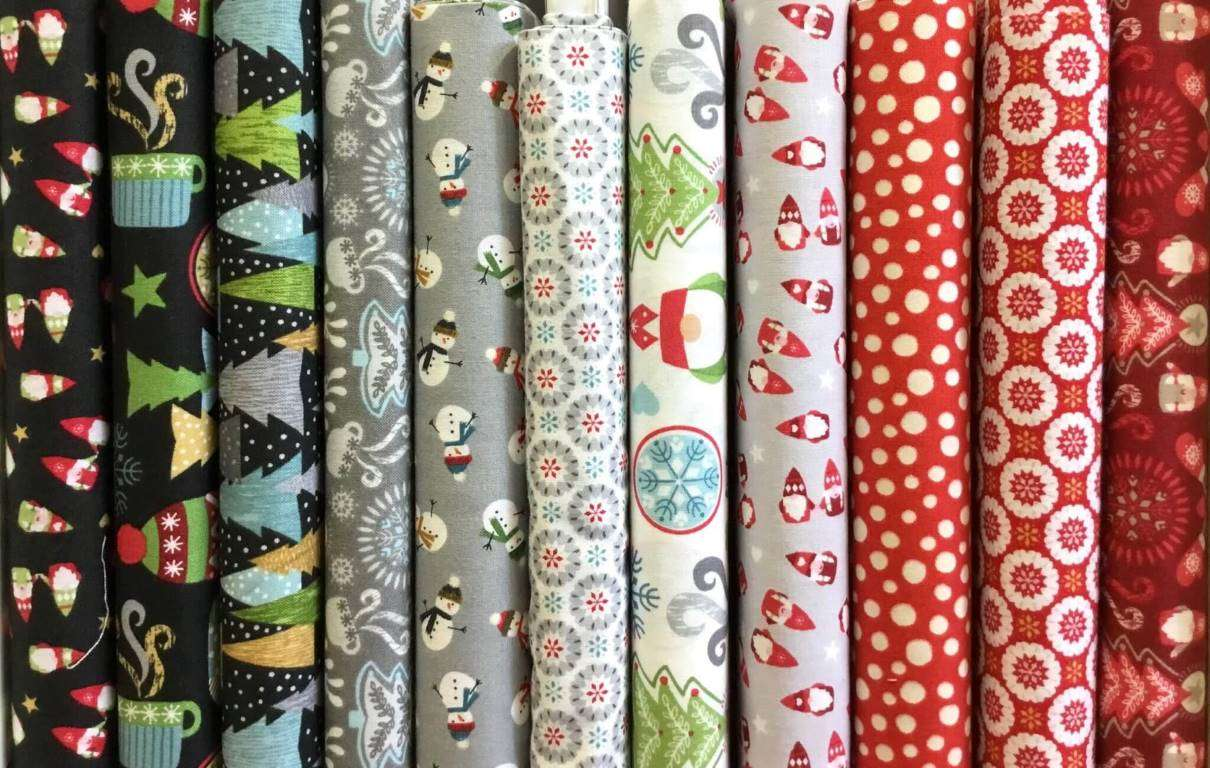 Clearance on Christmas Fabrics from 2019