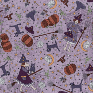 Little Witchy Wonderland Fabric by Lynette Anderson