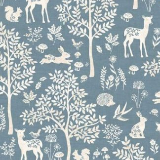 Woodland Fabric by Makower