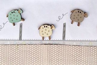 Wooden Animal Buttons
