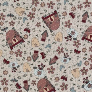 Sweet Garden of Mine Fabric by Lynette Anderson