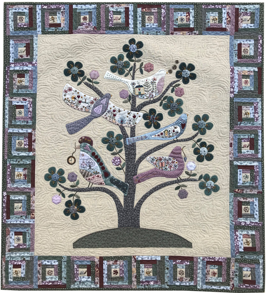 Tree Of Life Block Of The Month By Lynette Anderson