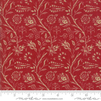 French General Vive La France Rouge Amboise 13830 12 Moda Quilting Cotton Fabric
