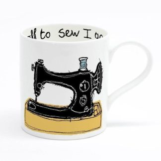 sewing machine mug
