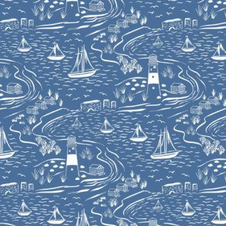 Seaside & Birds Fabrics