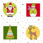 Festive Christmas Fabrics by Makower 2019