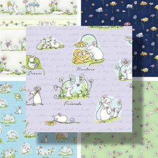Daisy Daisy Fabrics by Anita Jeram