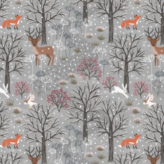 Winter in Bluebell Woods Fabrics