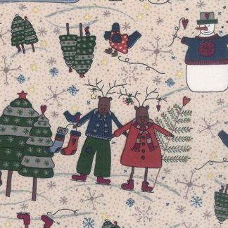 Winter Playground Fabric & Fat 1/4s by Lynette Anderson