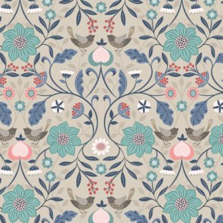 Michaelmas Fabric & Fat 1/4s by Lewis & Irene