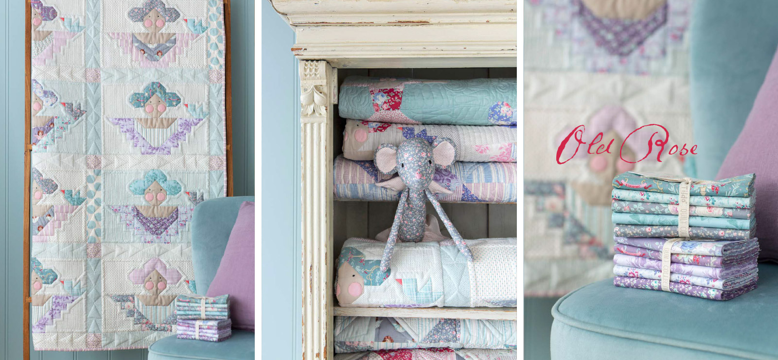 Tilda Old Rose Fabrics