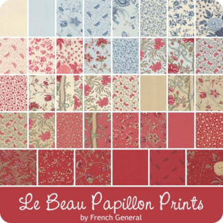 French General Le Beau Papillon Fabric