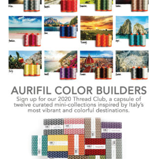 Aurifil Colour Builder Programme